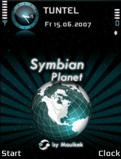 Symbian Planet 2 Theme