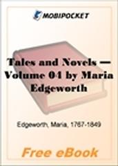Tales and Novels - Volume 04 for MobiPocket Reader