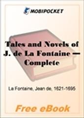 Tales and Novels of J. de La Fontaine - Complete for MobiPocket Reader