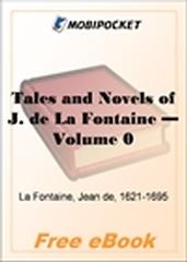Tales and Novels of J. de La Fontaine - Volume 04 for MobiPocket Reader