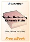 Tender Buttons for MobiPocket Reader