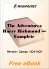 The Adventures Harry Richmond for MobiPocket Reader