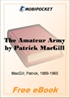 The Amateur Army for MobiPocket Reader
