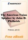 The American Union Speaker for MobiPocket Reader