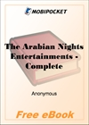 The Arabian Nights Entertainments for MobiPocket Reader