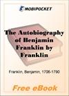 The Autobiography of Benjamin Franklin for MobiPocket Reader