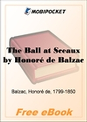 The Ball at Sceaux for MobiPocket Reader