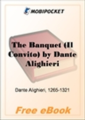 The Banquet (Il Convito) for MobiPocket Reader