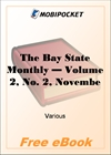 The Bay State Monthly - Volume 2, No. 2, November, 1884 for MobiPocket Reader