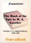 The Book of the Epic for MobiPocket Reader