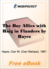 The Boy Allies with Haig in Flanders for MobiPocket Reader