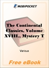 The Continental Classics, Volume XVIII for MobiPocket Reader
