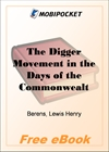 The Digger Movement in the Days of the Commonwealth for MobiPocket Reader