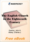 The English Church in the Eighteenth Century for MobiPocket Reader