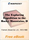 The Exploring Expedition to the Rocky Mountains, Oregon and California for MobiPocket Reader