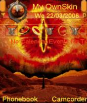 The Eye of Sauron Theme