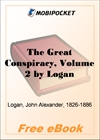 The Great Conspiracy, Volume 2 for MobiPocket Reader