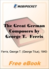 The Great German Composers for MobiPocket Reader