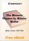 The Historic Thames for MobiPocket Reader