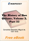 The History of Don Quixote, Volume 2, Part 35 for MobiPocket Reader