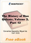 The History of Don Quixote, Volume 2, Part 42 for MobiPocket Reader