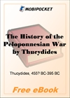 The History of the Peloponnesian War for MobiPocket Reader