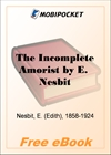 The Incomplete Amorist for MobiPocket Reader