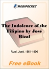 The Indolence of the Filipino for MobiPocket Reader