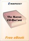 The Koran (Al-Qur'an) for MobiPocket Reader