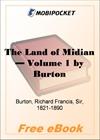 The Land of Midian - Volume 1 for MobiPocket Reader
