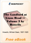 The Landlord at Lions Head - Volume 2 for MobiPocket Reader
