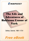 The Life and Adventures of Robinson Crusoe for MobiPocket Reader