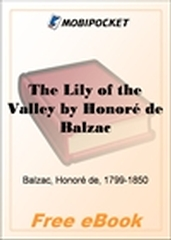 The Lily of the Valley for MobiPocket Reader