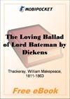 The Loving Ballad of Lord Bateman for MobiPocket Reader