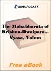 The Mahabharata of Krishna-Dwaipayana Vyasa, Volume 4 for MobiPocket Reader