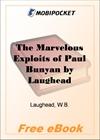 The Marvelous Exploits of Paul Bunyan for MobiPocket Reader