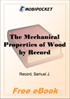 The Mechanical Properties of Wood for MobiPocket Reader