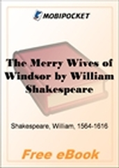 The Merry Wives of Windsor for MobiPocket Reader
