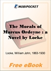 The Morals of Marcus Ordeyne for MobiPocket Reader