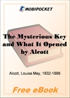 The Mysterious Key and What It Opened for MobiPocket Reader