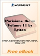 The Parisians, Volume 11 for MobiPocket Reader