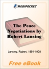 The Peace Negotiations for MobiPocket Reader