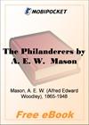 The Philanderers for MobiPocket Reader