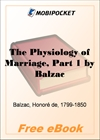 The Physiology of Marriage, Part 1 for MobiPocket Reader