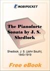 The Pianoforte Sonata for MobiPocket Reader