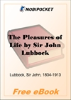 The Pleasures of Life for MobiPocket Reader