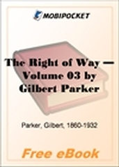 The Right of Way, Volume 3 for MobiPocket Reader