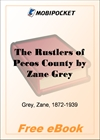 The Rustlers of Pecos County for MobiPocket Reader