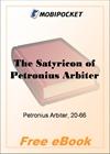 The Satyricon of Petronius Arbiter for MobiPocket Reader