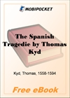 The Spanish Tragedie for MobiPocket Reader